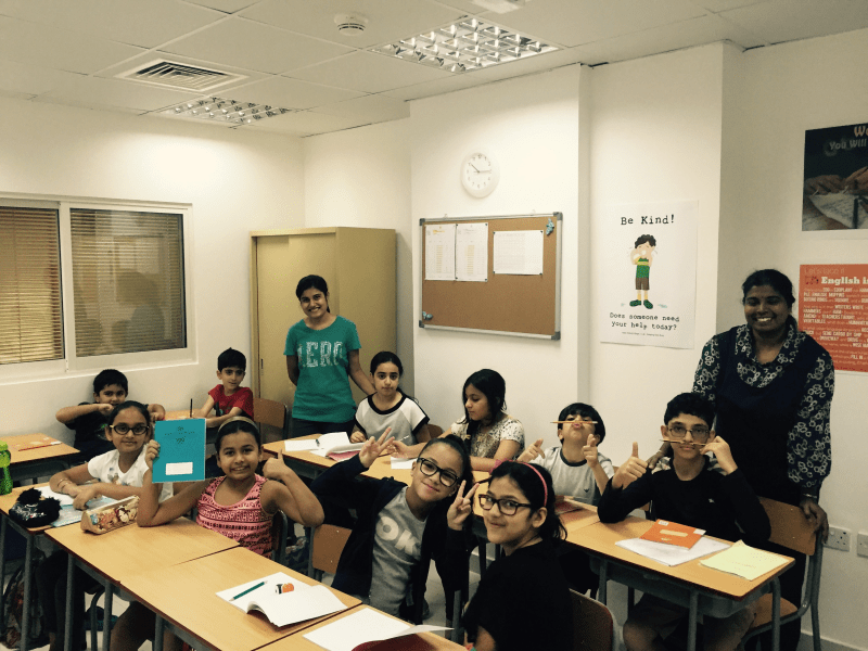 Summer Camp 2015 Children in Class
