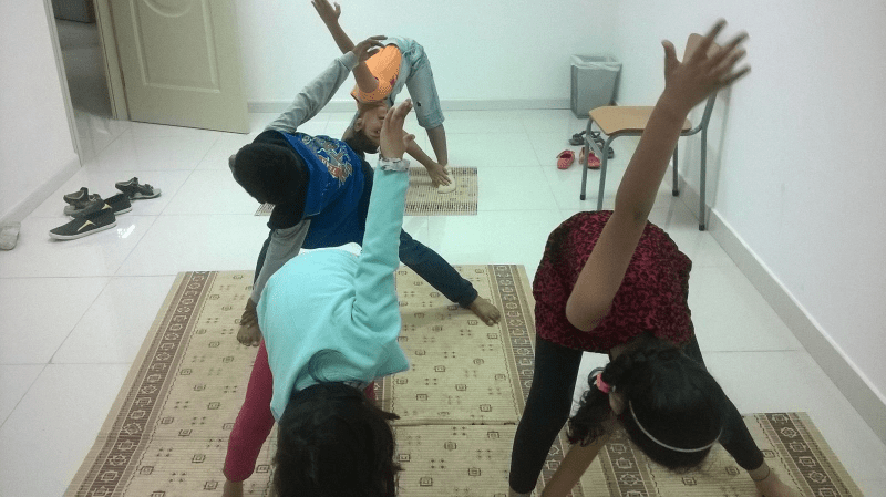 Feb 2016 Camp Children @Yoga