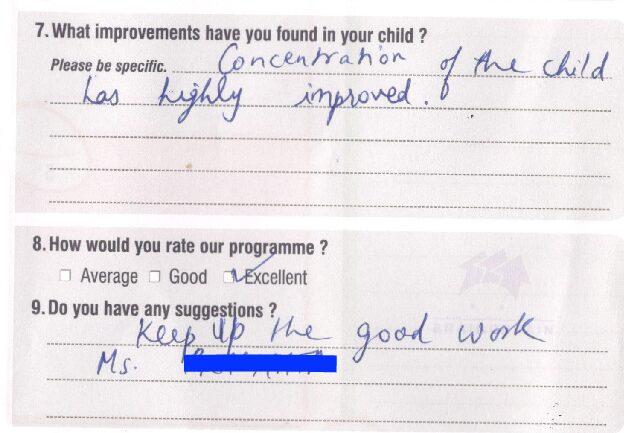 20181225 Param Bahl BOB Parent's Feedback Form 0158 copy